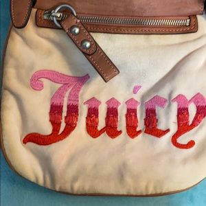 Juicy Couture velour crossbody bag